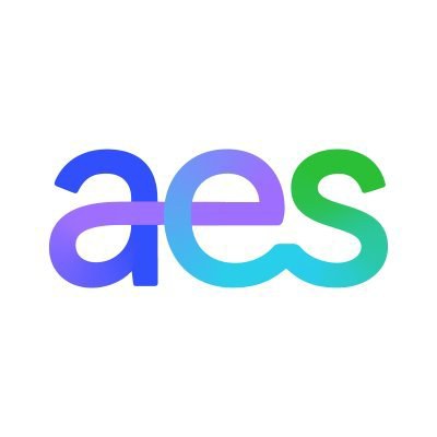 The AES Corp logo