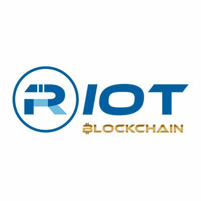 Riot Blockchain Inc logo