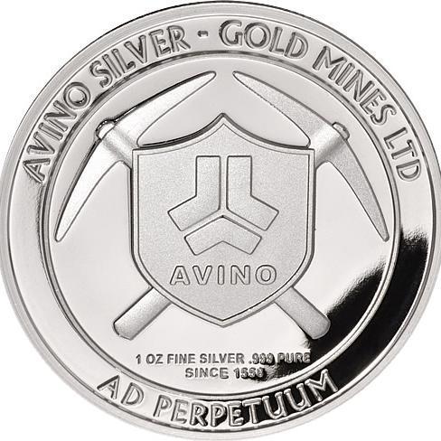 Avino Silver & Gold Mines Ltd logo